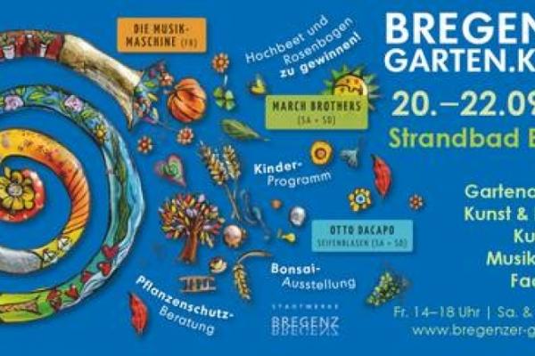 Bregenzer Garten.Kultur 20.–22. September